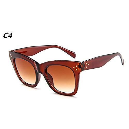 41ae03232f C4 Eye Pour Lunettes Fashion Femmes Ysfu Transparent nbsp;de Uv400 Cat Femme  Rectangulaires De nbsp;soleil ...