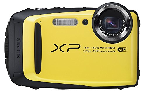 Fujifilm FinePix XP90 Blue Waterproof digital camera (Yellow) (Certified Refurbished) by Fujifilm