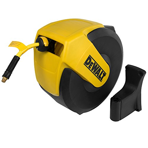 DeWalt DXCM024-0345 Hose Reel Automatic Retraction Enclosed Air Hose Reel ()