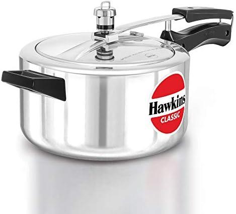 طنجرة ضغط مصنوعة من الالمنيوم من هاوكينز كلاسيك, الالومنيوم, فضي, 4 litres