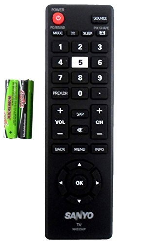 Sanyo NH315UP Remote Control for FW55D25F-B