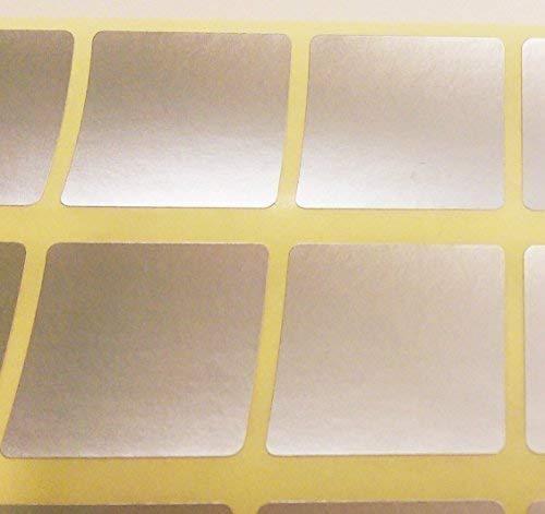 10mm Braun 10mm Quadrate Farbcode ID Punkte Leer Preis Aufkleber Klebrige Etiketten Audioprint Ltd