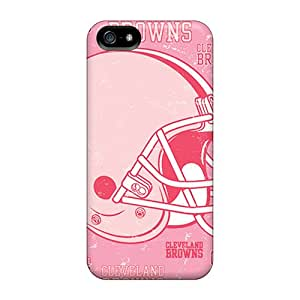 IpL4780RfSh Cleveland Browns Fashion Tpu 5/5s Case Cover For Iphone