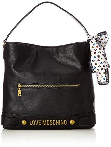 Grain Black Shoppers Negro bolsos B Love Negro H y Moschino Pu T Nappa de hombro cm x Black Mujer Nero 10x32x36 ExFnBCqw