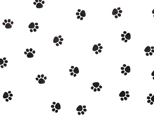Pack Of 1, Paw Print Cello Roll 1.0 Mil 24'' X 100' Made In USA by Generic
