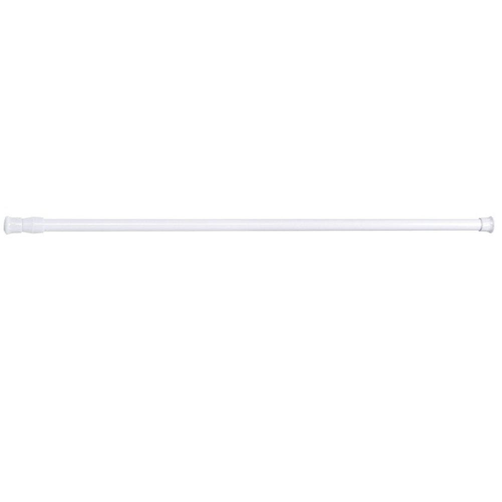 4/pcs//lot r/églable Tension /à ressort Tringle /à rideau Tringle /à rideau de douche extensible Rail Tige Cantonni/ère Suspension t/élescopique Placard Barre r/églable Rod 55-90cm