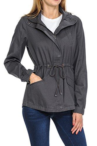 Cotton Twill Coat Jacket - 8
