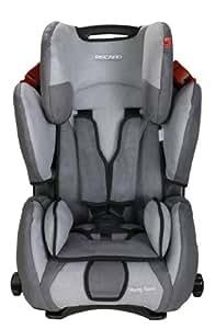 Recaro 62022100366 Young Sport - Silla para coche (Grupo 1/2/3, hasta 36 kg, 9-144 meses, color gris oscuro/gris claro)