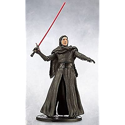 Star Wars 6 Elite Series Die-Cast Figure Kylo Ren Unmasked (Episode VII: A Force Awakens): Toys & Games