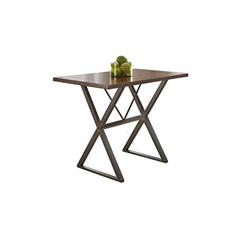 Cherry Table Plank (Steve Silver Omaha Counter Height Dining Table in Dark Cherry)