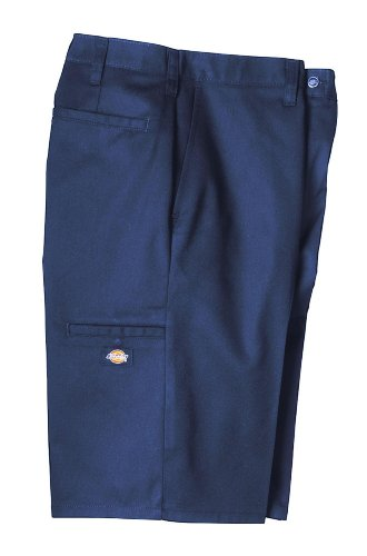 Dickies Men's 11'' Industrial Multi-Use Pocket Shorts, Navy, 33