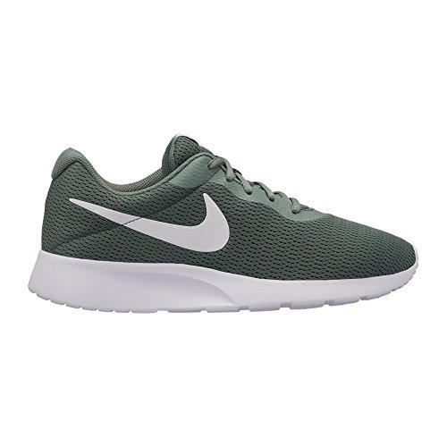 NIKE Men's Tanjun Running Sneaker Clay Green/White 8