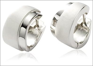 gute Qualität offizielle Seite große Auswahl an Farben FOSSIL JF15148040 Damen Creolen 925 Sterling Silber