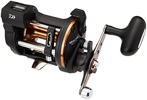 Daiwa Sealine Extra Heavy 4.2:1 SG-3B Line Counter Reel, ...