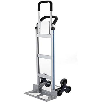 600 Lbs Capacity Appliance Hand Truck Stair Climber Steel