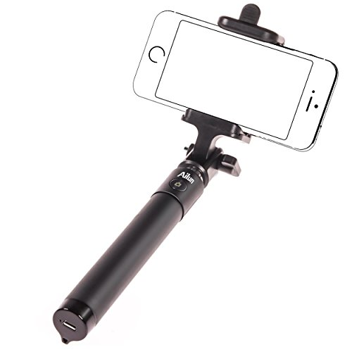 Bluetooth Selfie Stick,by Ailun,Extendable Monopod with built-in Bluetooth Remote Shutter,for iPhone 7/7...