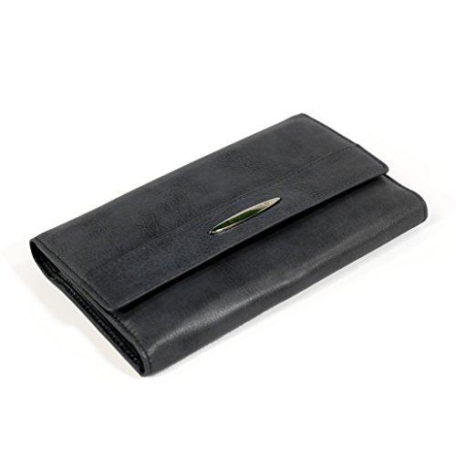 Deluxe Checkbook Wallet - RFID Blocking Ladies Wallet - RFID Wallet for Women ()