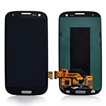 Generic Samsung Galaxy S3 I9300 I535 I747 L710 T999 R530 LCD Screen with Touch Screen Digitizer Replacement - Black