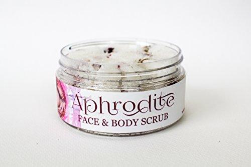 Aphrodite Face & Body Scrub by Nature Goddess Skin Care