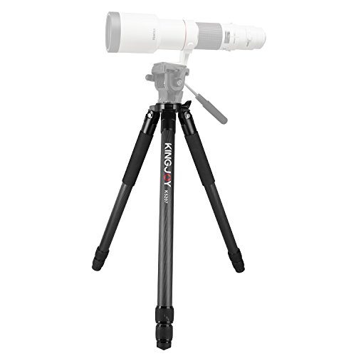 Carbon Fiber Video Tripod Stand, Papaler K5207 59