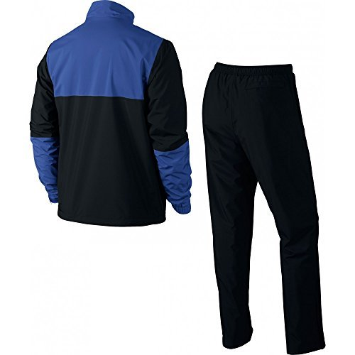 Nike Golf Storm-FIT Rainsuit (Black/Game Royal, Small) by Nike (Image #2)