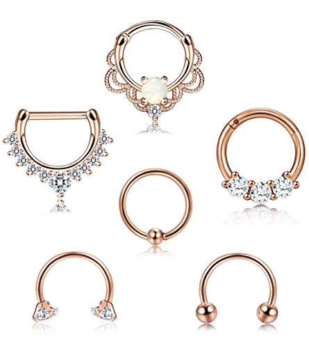 septum rings - 7