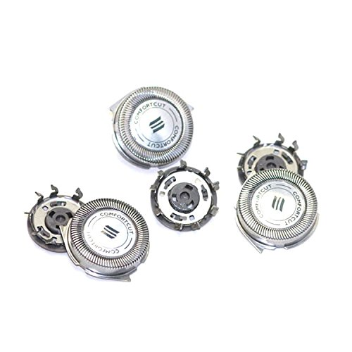 Set of 3 SH30/52 Replacement Heads for Replacing Philips Norelco Series 1000, 2000 and 3000 shavers and (3000 Series Foil)