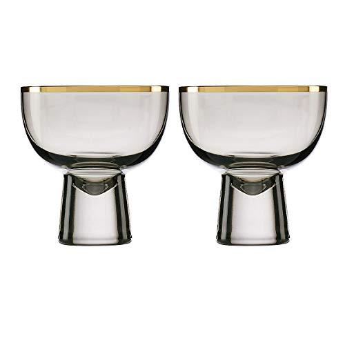 LENOX Slate Trianna 2-Piece Cocktail Glass Set, 1.70 LB