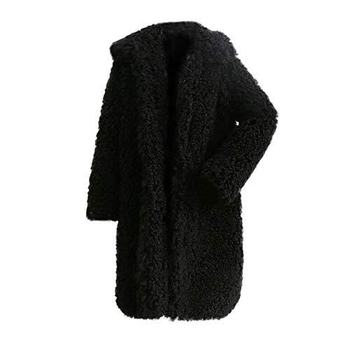 d1641bee2fc16 Épaissie Plus Poches Épais Vestes Longues Oudan Hiver Femmes Velours  Fourrure Outwear Mode Neige Confortable Décontracté ...