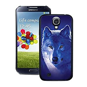 TOPAA Blazing Colour White Wolf Pattern 3D Effect Hard Case for Samsung Galaxy S4 i9500