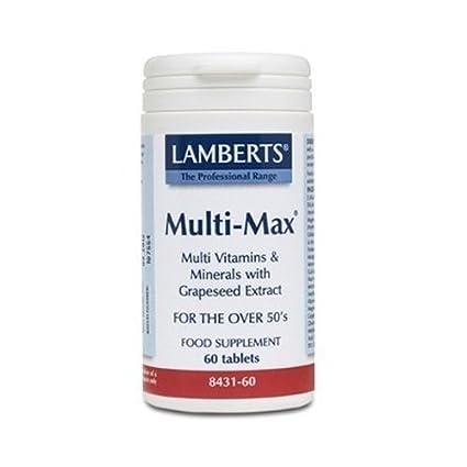 Multi-Max (Vitaminas, Minerales y Aminoácidos) (Una al Día) 60