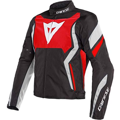 Dainese Edge Tex Jacket - Lava-Red/Black/White (Euro 58 / US 48)