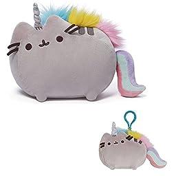 GUND Pusheenicorn Stuffed Pusheen Plush Unicorn, 13\