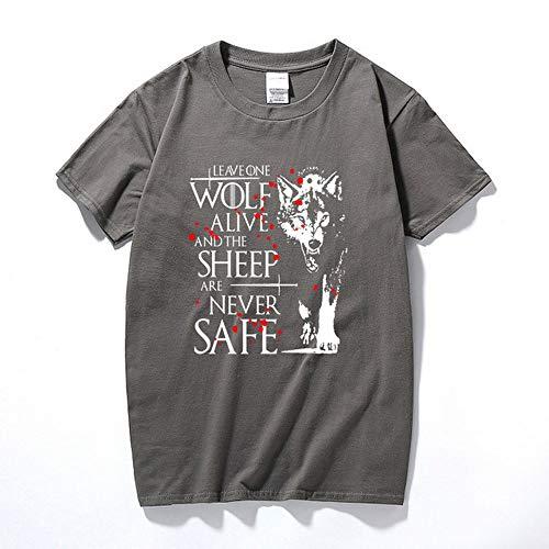 Arya Stark Shirt Cotton Multicolored Merch Merchandise Clothing Collection Cotton T-Shirt Casual Unisex -
