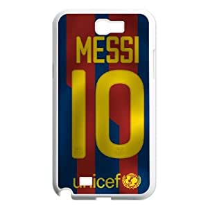 Samsung Galaxy Note 2 N7100 Phone Cases White Lionel Messi EXS560623