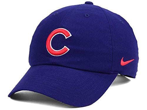 Baseball Chicago Stadium - Nike Men's Chicago Cubs Heritage Stadium Dri Fit Adjustable Baseball Hat Cap
