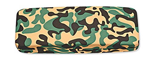 Oblong Rectangular Hard Eyeglass Case Medium To Large Frames Men Women In Camo