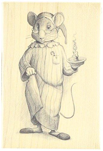 Inkadinkado Wood Stamp, Goodnight Mouse