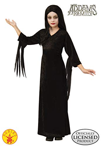 Rubie's Addams Family Animated Movie Girl's Morticia Costume, Medium