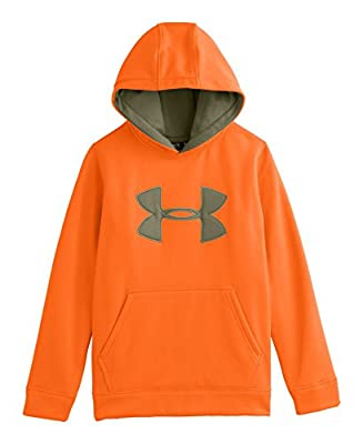 Under Armour Big Boys' Armour® Fleece Camo Big Logo Hoodie