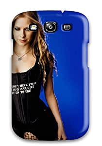 Juliam Beisel's Shop Galaxy S3 Case Cover Avril Lavigne In Balck Case - Eco-friendly Packaging 6768038K76042219