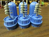 3 ~G INDUSTRIAL TOOL BATTERY TERMINAL WIRE BRUSH TOP POST CLEANER BRUSHES BCP100