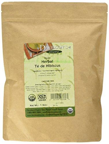 Davidson's Tea Bulk, Te De Hibiscus, 16-Ounce Bag Ruby Chai Tea