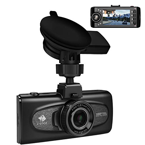 Uber Dual Dash Cam, Z-Edge F1 2.7