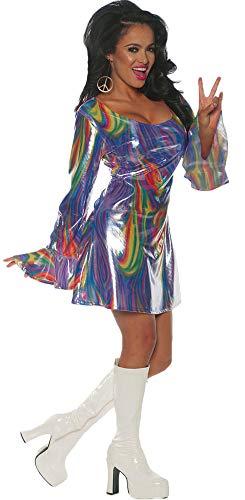 (Underwraps Women's Shakin Disco Dress Theme Party Outfit Halloween Costume, XL)
