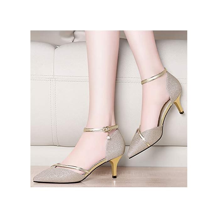 Yukun Tacchi Alti Primavera E Autunno Early Autumn Single Shoes With High Heels Stiletto Fashion Black Leather Scarpe Da Donna