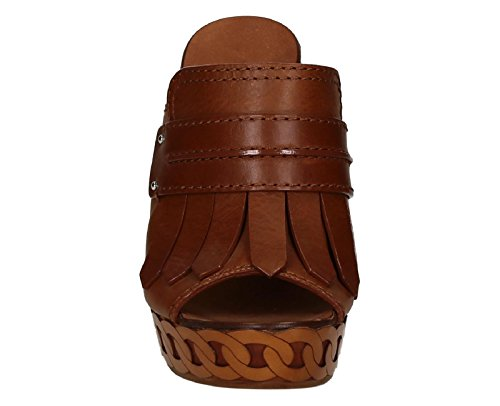 Casadei sandals with platform in tan Leather - Model number: 8188R117.FU1RANG400 Leather HXMEZhB