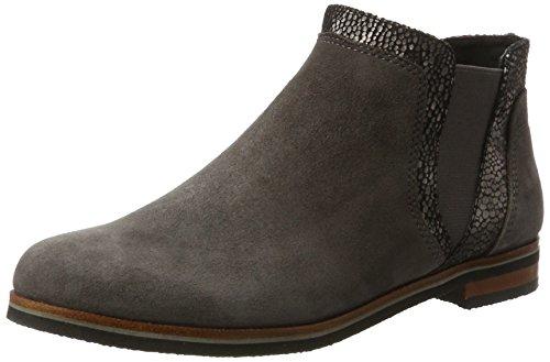 Caprice Women's 25304 Chelsea Boots, Grey Grey (Anth.sue.multi 255)