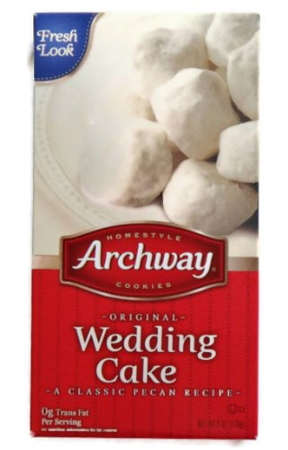 Archway Wedding Cake Cookies Two 6 Oz Boxes Amazon Com Grocery Gourmet Food