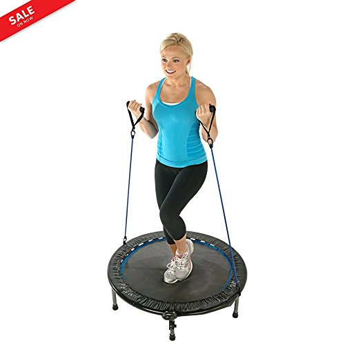 Advanced Fitness Rebounder 38'' Workout Energy Resistance Tubes Multi-functional Electronic Fitness Monitor Sports & Outdoors eBook by BADA shop by BS
